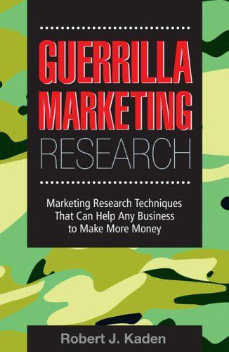 Investigación de mercados de guerrilla