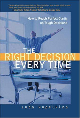 La toma de decisiones adecuada